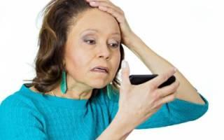 Что делать если выпадает волос при климаксе