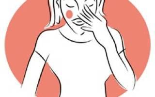 Как убрать красноту лица при климаксе