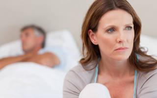 Менопауза дискомфорт при сухости влагалища