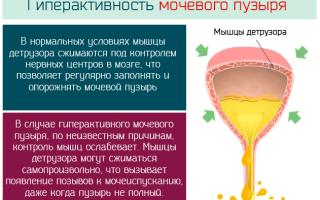 Гиперактивный мочевой пузырь при климаксе