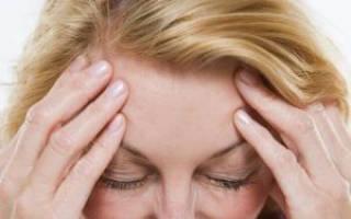 Как устранить головную боль при климаксе
