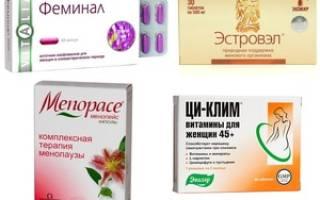 Какие гомеопатические препараты применяют при климаксе